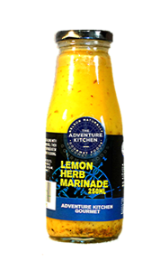 Lemon Herb Marinade Barbeque Dressing 250ml