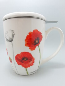 3Pc Infuser Poppies