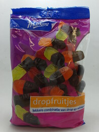 Liquorice Fruit Duo 400g