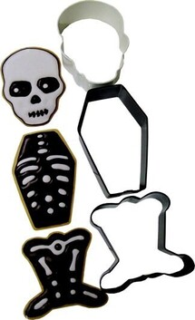 3pc Skeleton Cookie Cutter