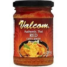 Authentic Thai Red Curry Paste 210g