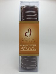 Brandy Ginger Truffle Log 180g