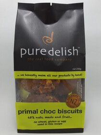 Primal Chocolate Biscuits 8 pack 240g
