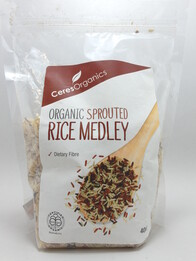 Sprouted Rice Medley 400g