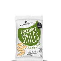 Coconut Smiles Simply Toasted 70g