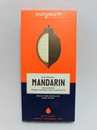 Organic Raw Mandarin Chocolate 80g