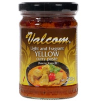 Authentic Thai Yellow Curry Paste 230g