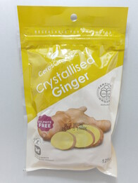 Crystallized Ginger 125g
