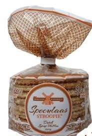 Stroopie Dutch Syrup Waffles Speulaas 250g