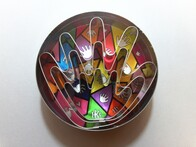 Cookie Cutter Hand Set of 3 Tin