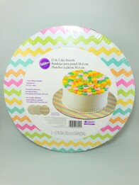Cake Board 3pc Bright