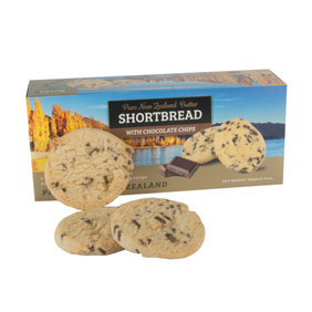 Chocolate chip shortbread 180g