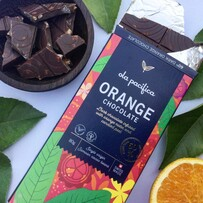 60% Dark Orange Chocolate 80g