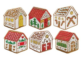 The Gingerbread House Cookie Cutters