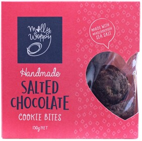Salted Chocolate Cookie Bites