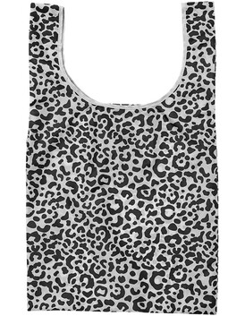 Eco Recycled Pet Leopard Print  Shopping Bag