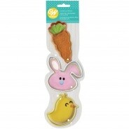 Carrot bunny chick cutter set