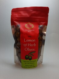 Lemon Herb Marinated Olives 300g