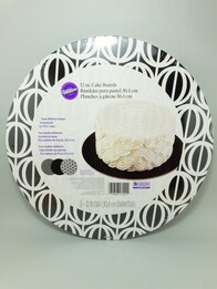 Cake Board 3pc Black/White