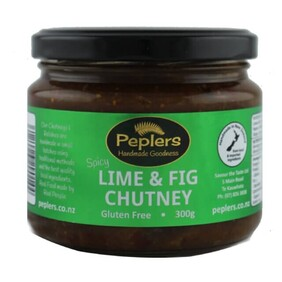Spicy Lime & Fig Chutney 300g