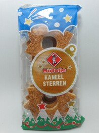 Cinnamon Star Biscuits 175g