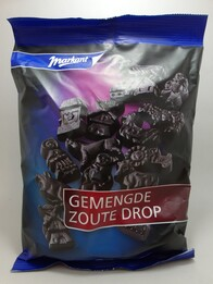 Mixed Salty Liquorice 400g