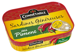 Sardines In Oil And Chillies 140g