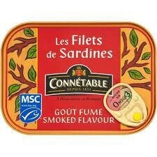 Sardines In Sunflower Oil Smoked Flavour 100g
