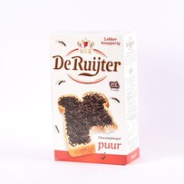 De Ruyter Dark Chocolate Hail 400g