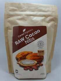 Raw Cacao Nibs 250g