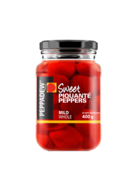 Sweet Piquante Peppers Mild Whole 400g