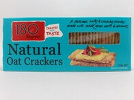 Natural Oat Crackers 150g