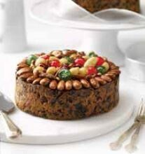Large Decorated Christmas cake 1kg
