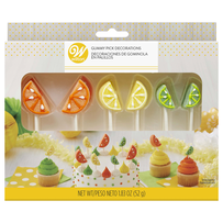 Wilton Gummy Pick Fruit Slice 52g